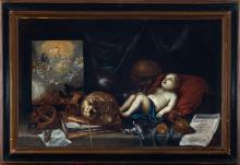 VANITAS, SEVILLE SCHOOL OF THE 17TH CENTURY, ATTRIBUTABLE TO JUAN VALDÉS LEAL (SEVILLE, 1622-1690)