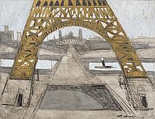 The Trocadero Under the Eiffel Tower