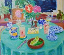 The Green Tablecloth