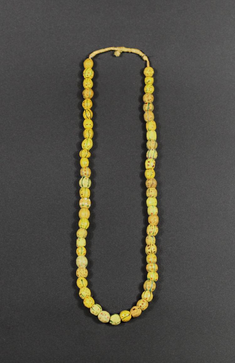 A Color Glazed Trinket bedded - Tang Dynasty