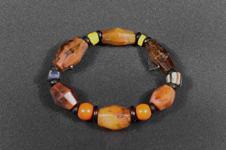 A Color Glazed Hand Bead - Liao and Jin Dynsaty