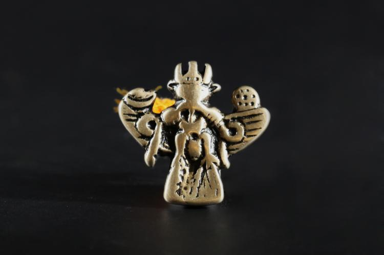 A Big Bronze Roc - Qing Dynasty