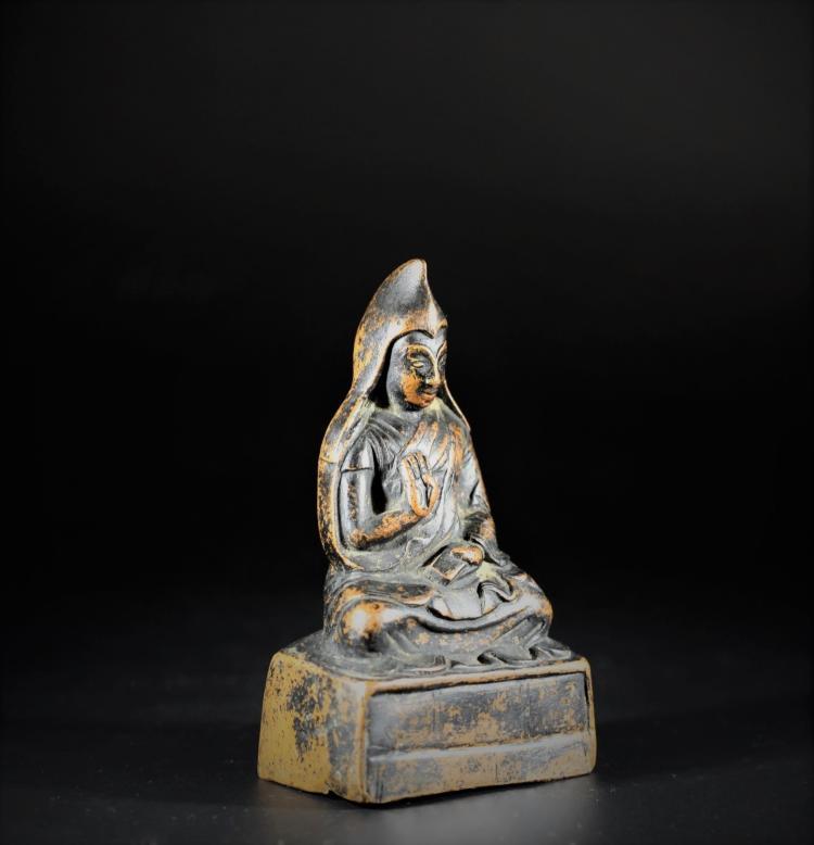 A Buddha Statue - Qing Dynasty