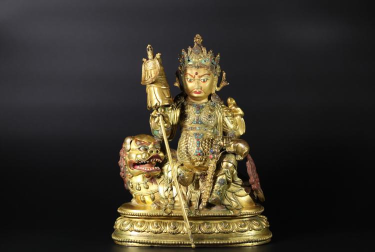 A Buddha Statue -Qing Dynasty