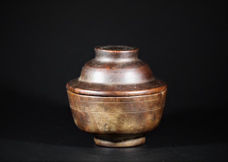 A Buddhismd Bowl made by Sakuragi - Qing Dynasty