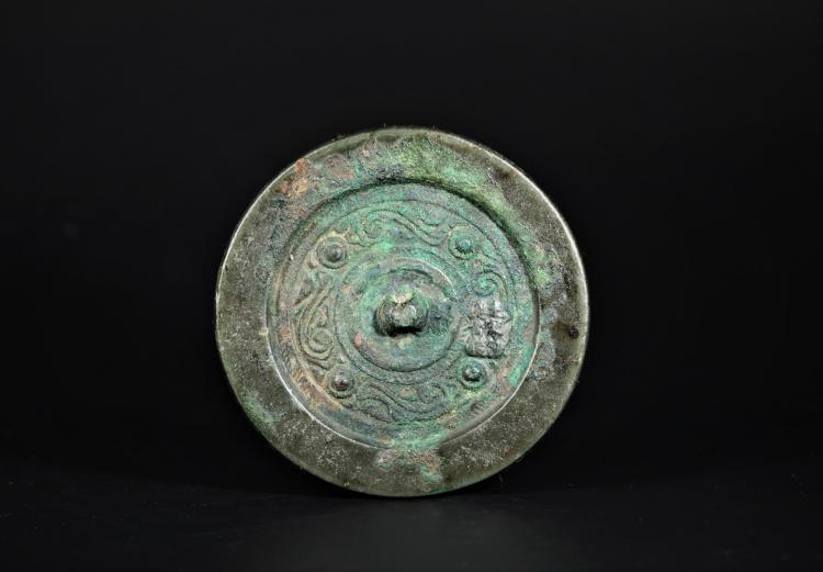 A Bronze Mirror -Yuan Dynasty
