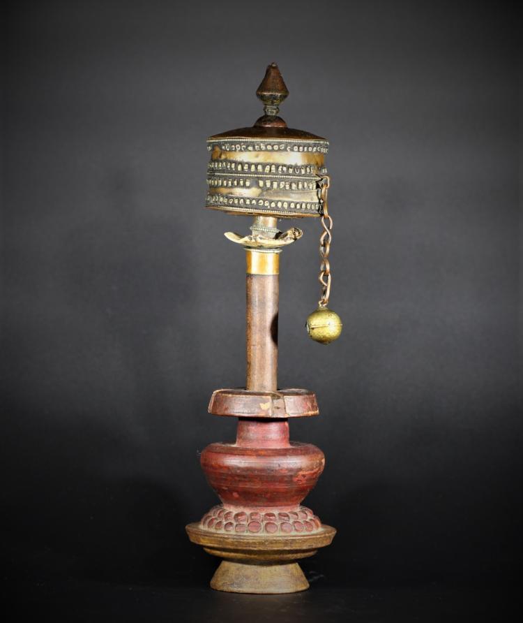 A Prayer Wheel - Qing Dynasty
