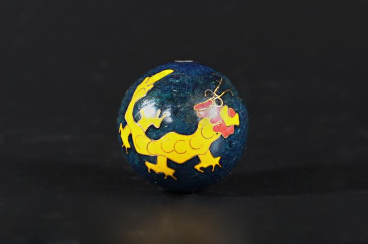 A Cloisonne Ball -Within 100 Years