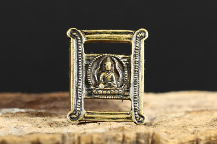 A Scripture Clasp - Qing Dynasty