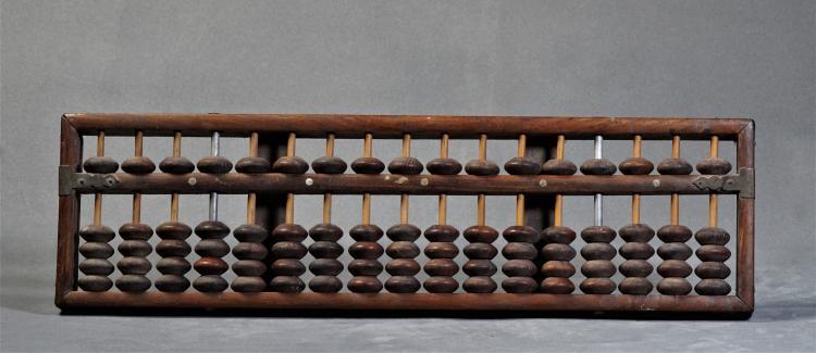 A Yellow Rosewood of Abacus- Reublic Era