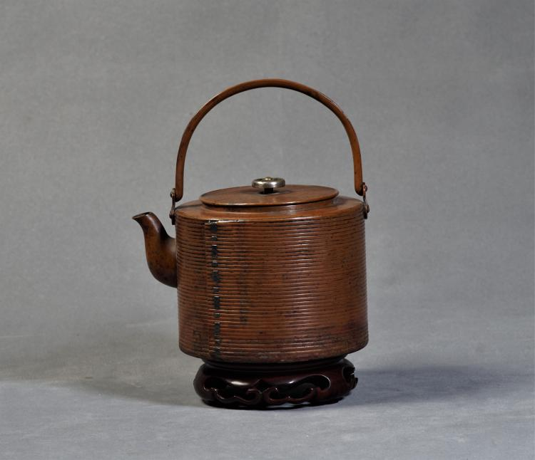 An Bornze Pot with Handle - Within 100 Years