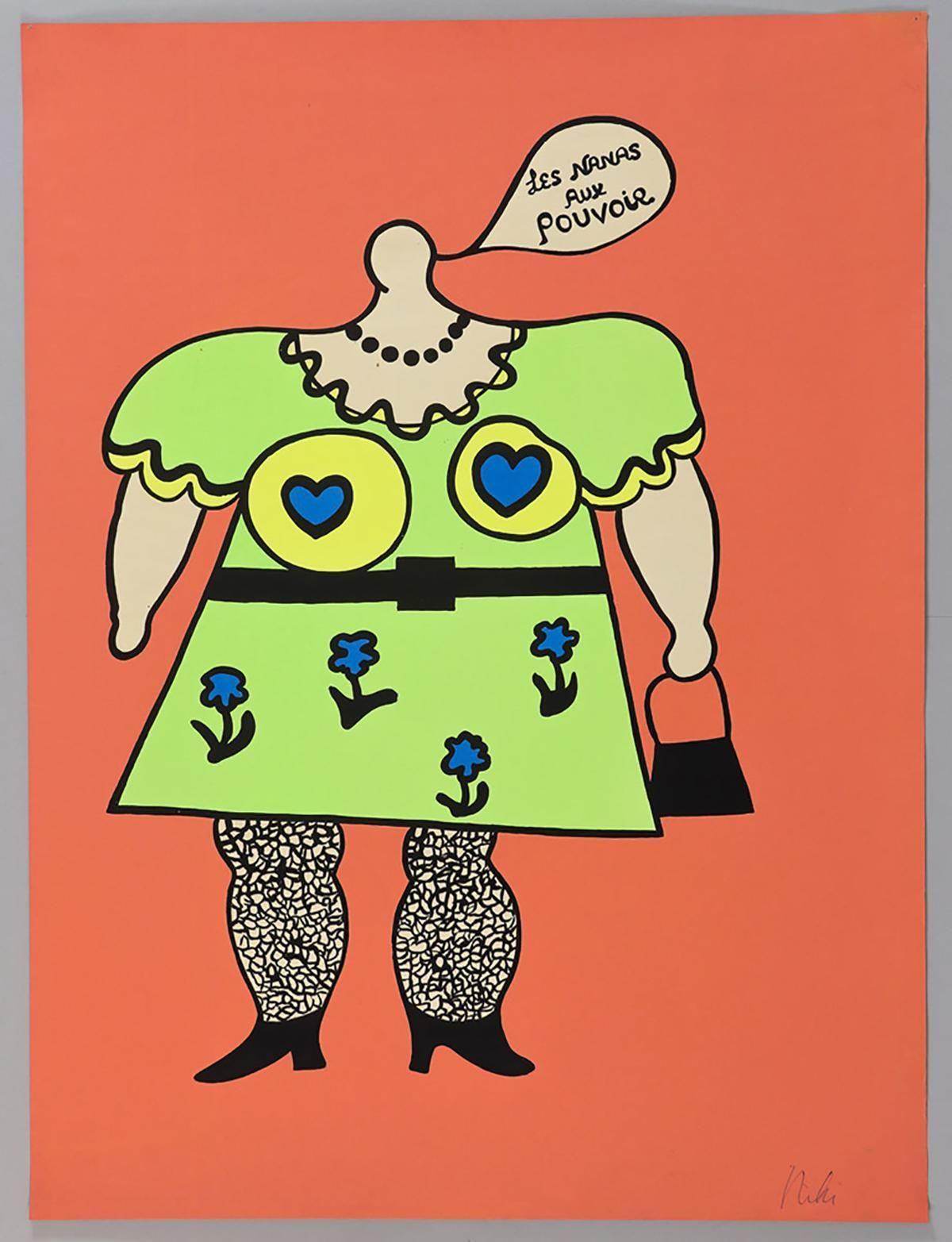 Niki de Saint Phalle - Les Nanas aux pouvoir, 1965