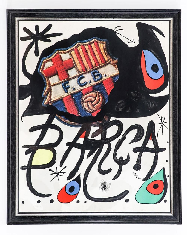 Joan Miró - 75 Aniversario del Barça, 1974
