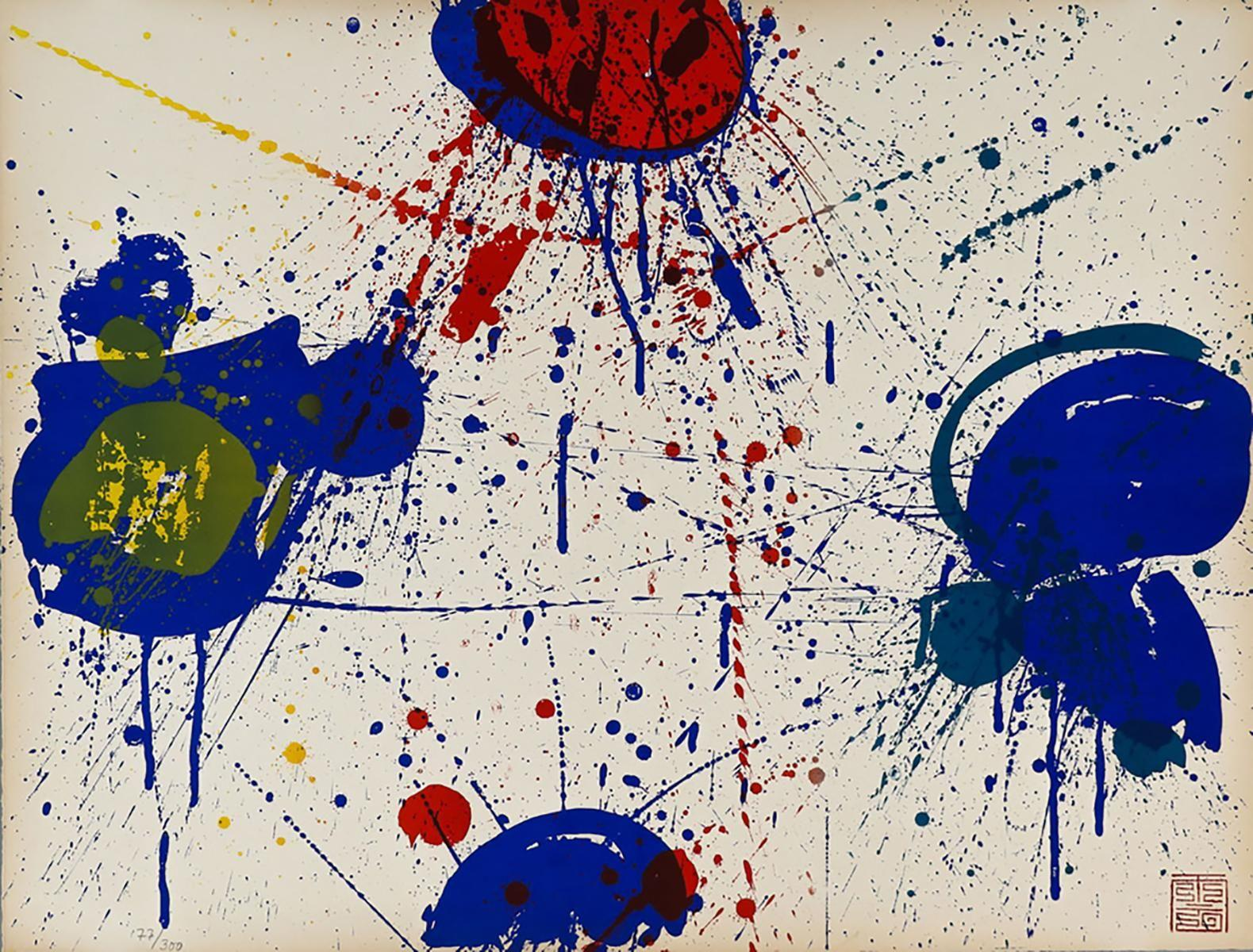 Sam Francis - The Upper Red, 1963