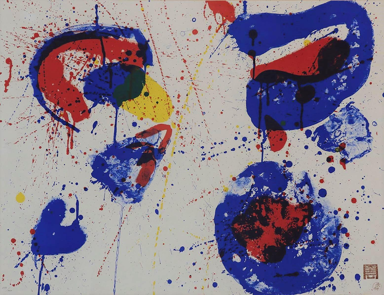 Sam Francis - Hurrah for the Red, White and Blue (SF-17), 1961