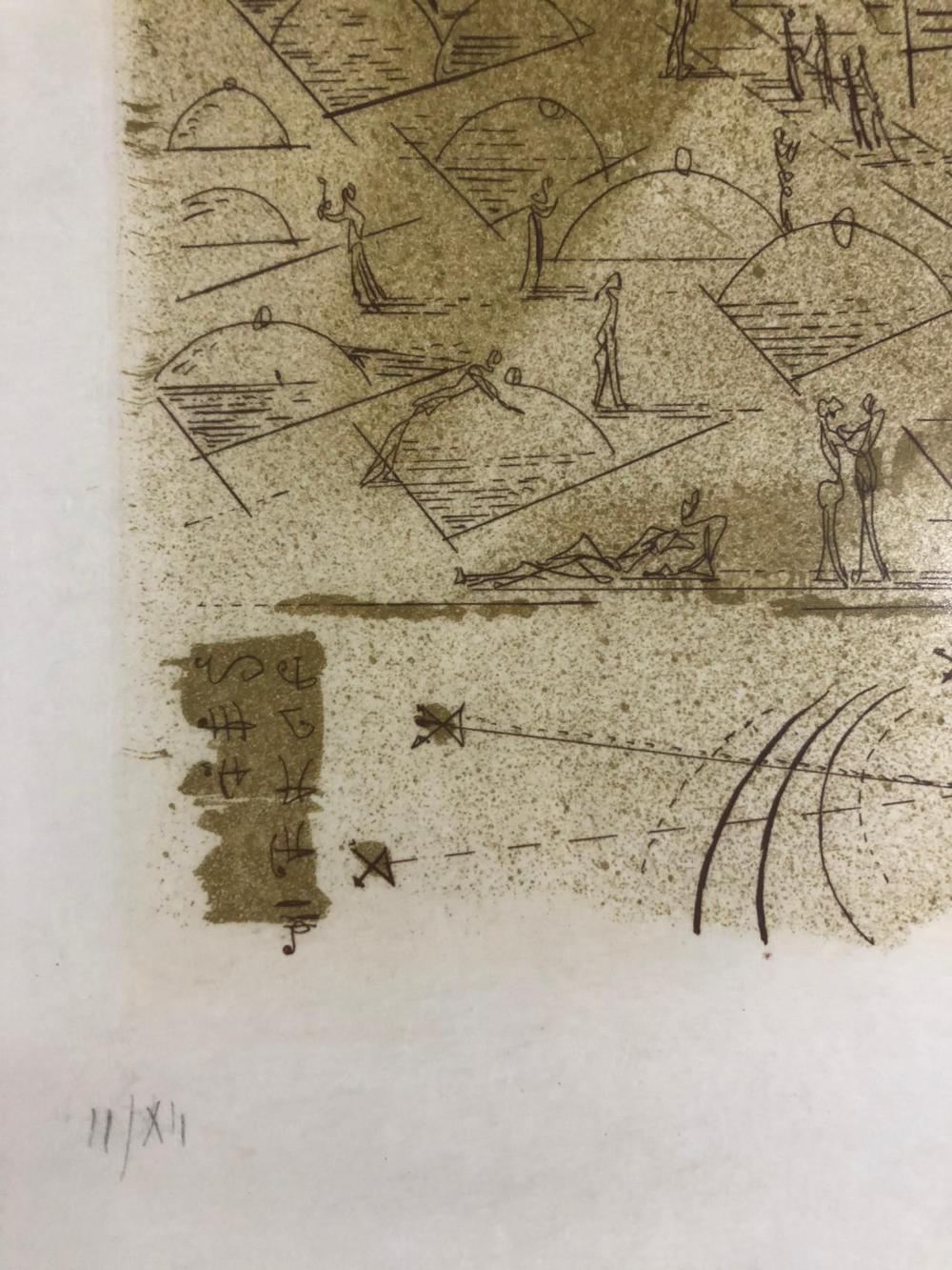 André Masson - Composition abstraite I, c. 1960