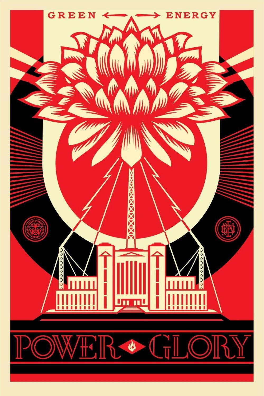 Shepard Fairey (OBEY) - Green Power