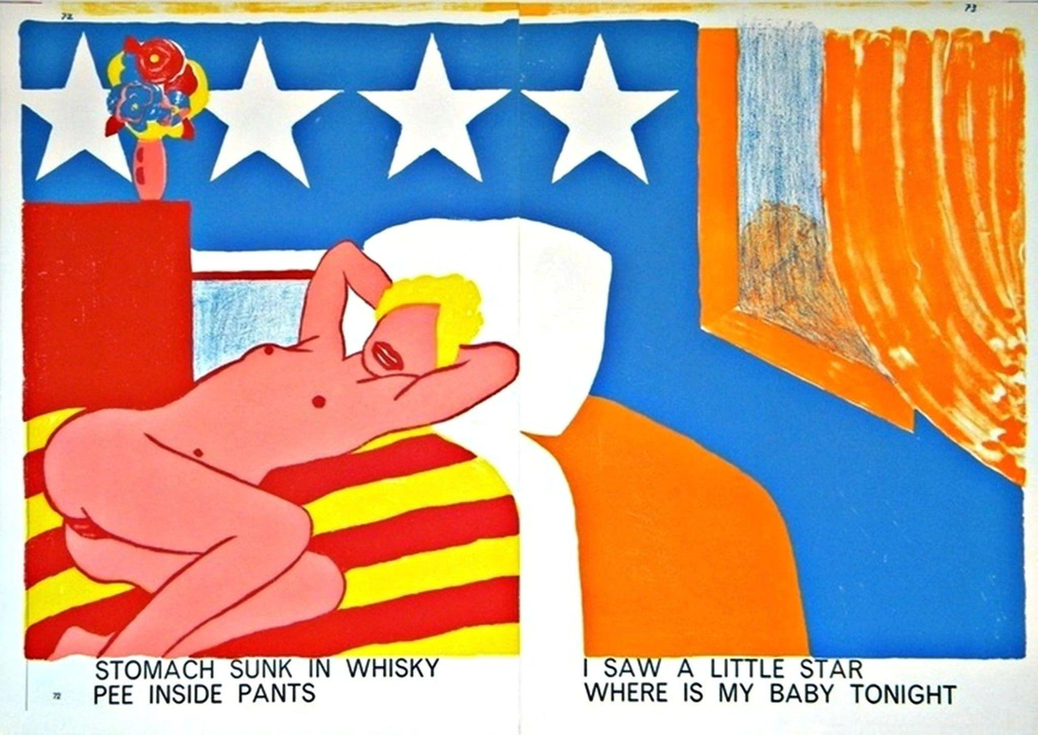 Tom Wesselmann - Stomach Sunk In Whisky, 1964