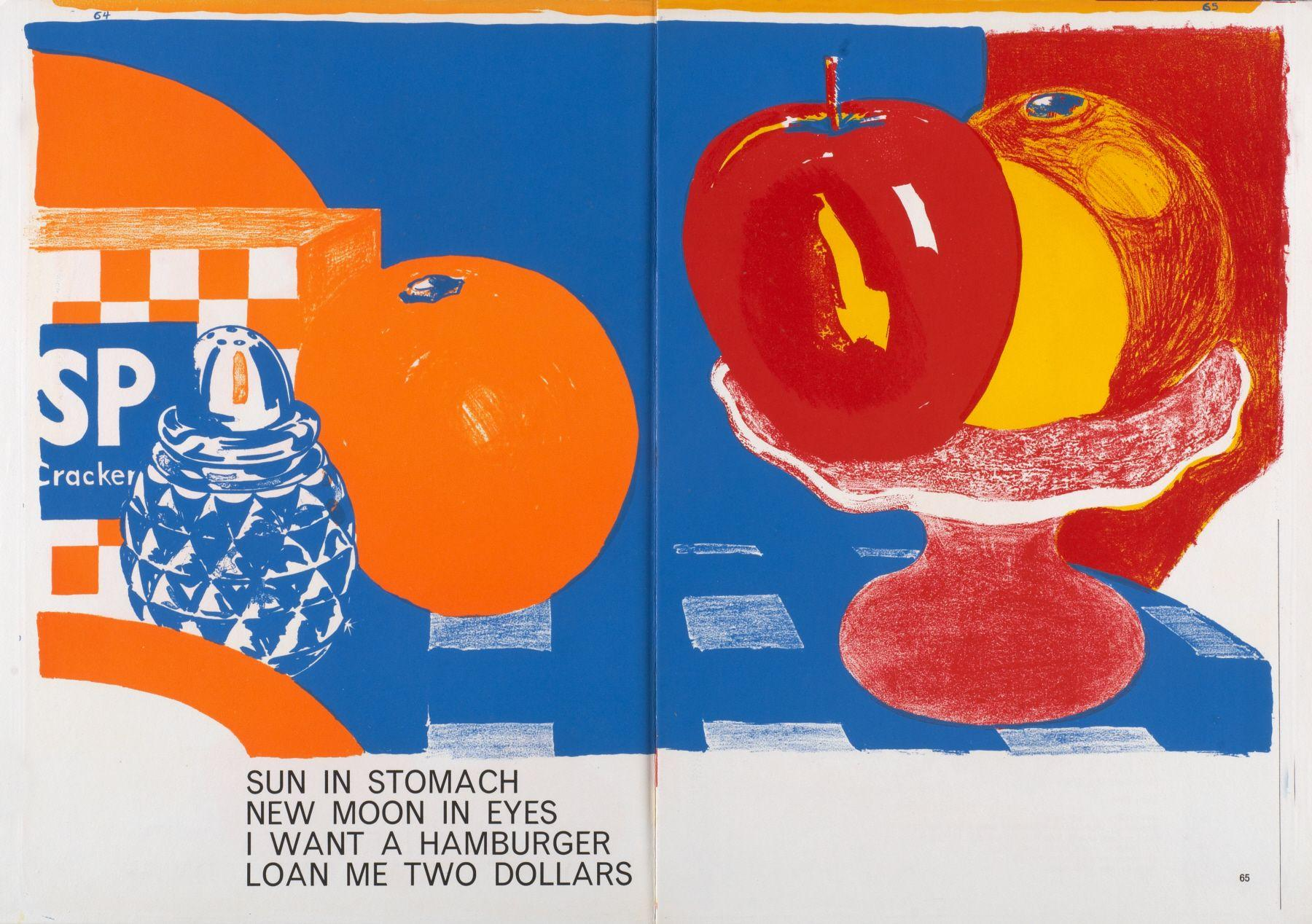 Tom Wesselmann - Sun In Stomach, 1964