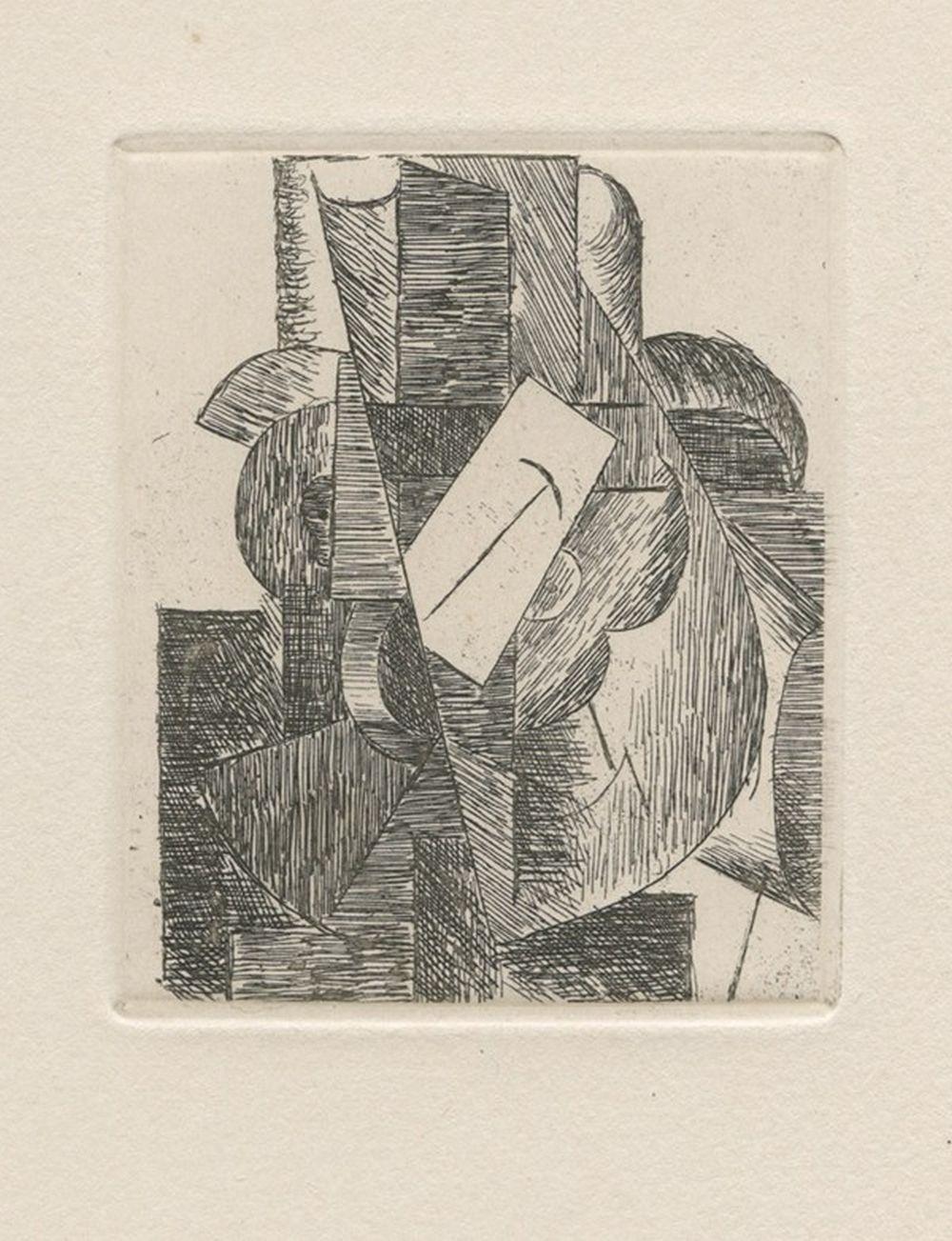 Pablo Picasso - L'homme au chapeau