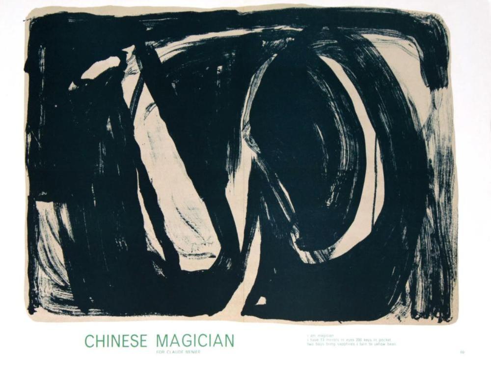 Bram van Velde - Chinese Magician, 1964
