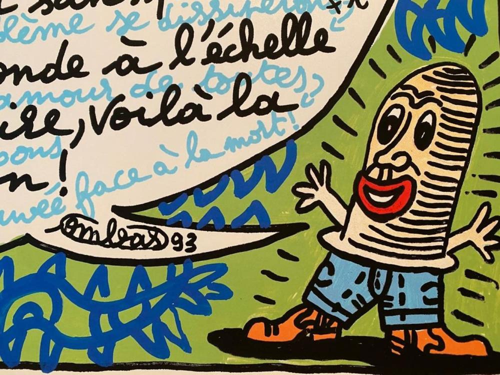 Robert Combas - L'amour, 1993