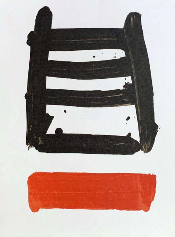 Pierre Soulages - Fais silence, 1978