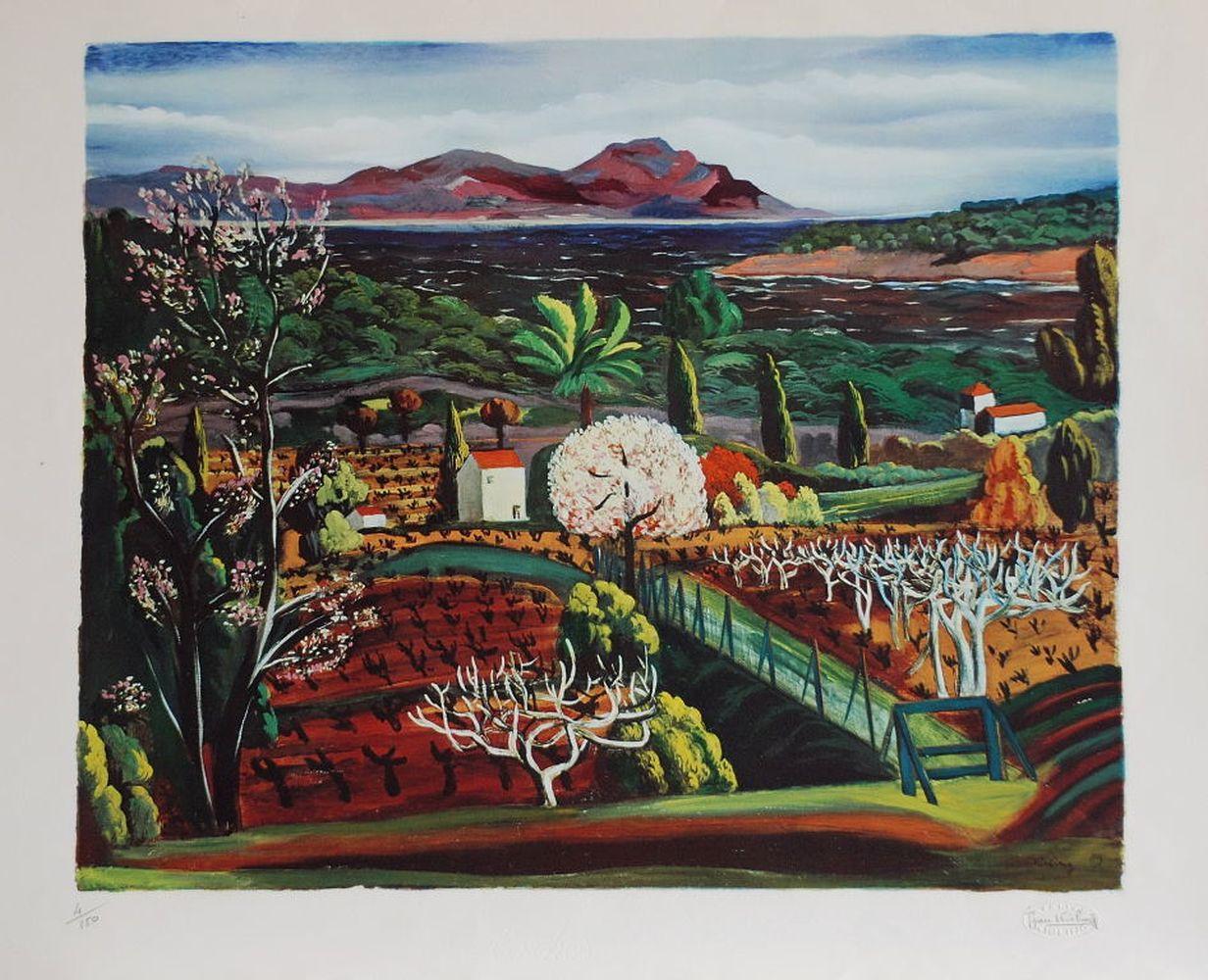 Moïse Kisling - Paysage