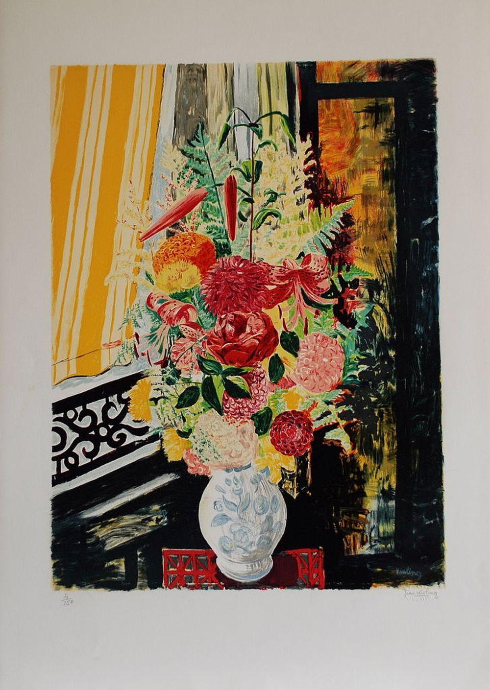 Moïse Kisling - Bouquets de Fleurs 3