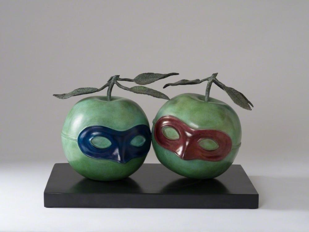 René Magritte - La Valse Hésitation (1950)