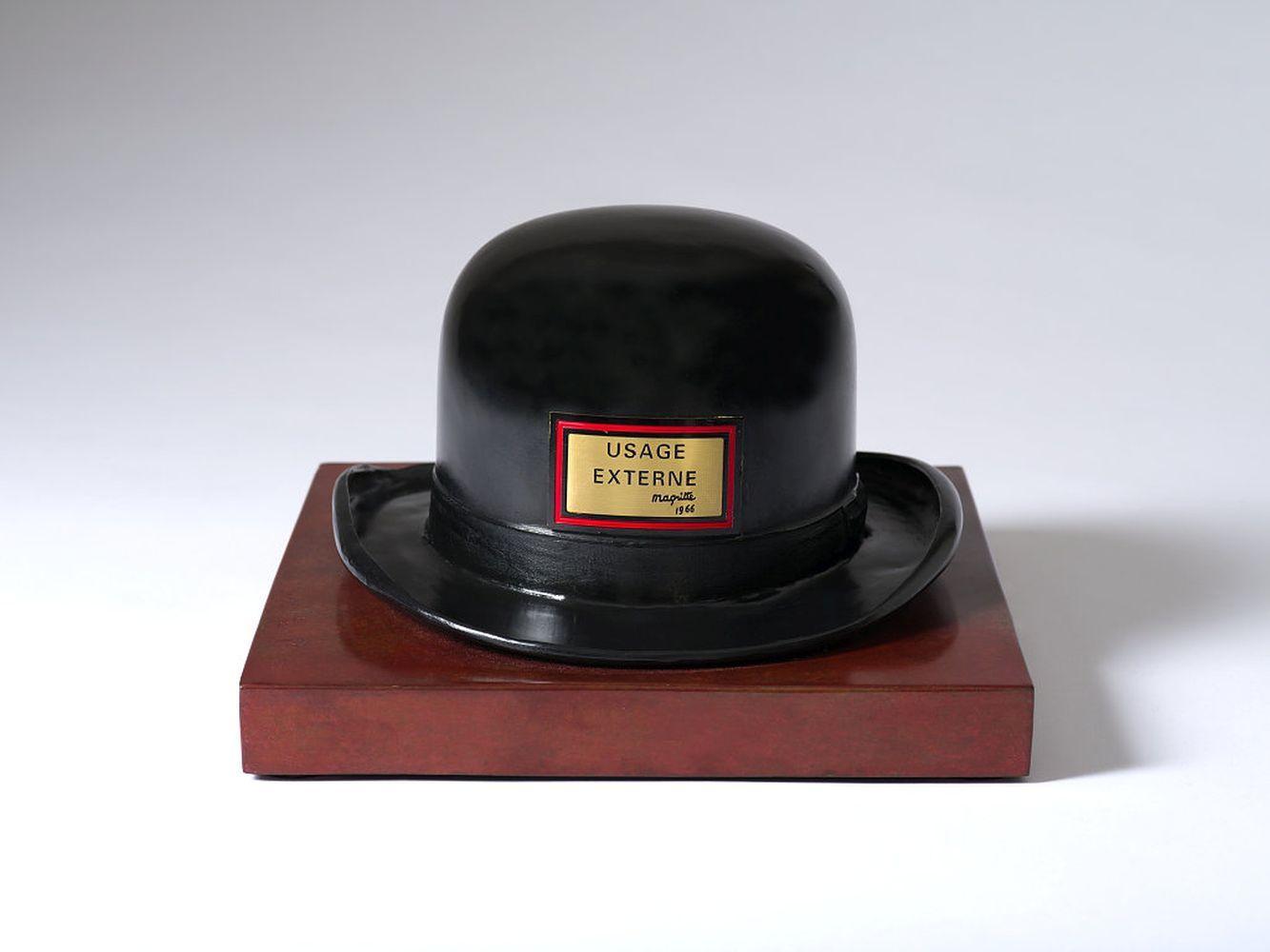 René Magritte - Le Bouchon d'Épouvante (1966)