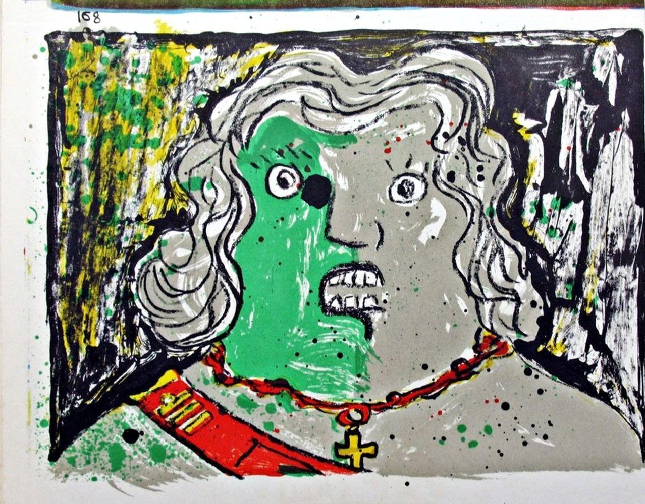 Enrico Baj - Untitled, 1964