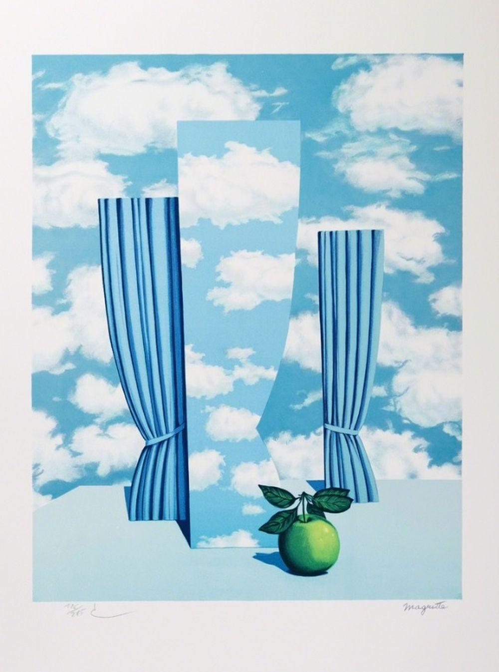 René Magritte - Le Beau Monde MM (The Beautiful World)