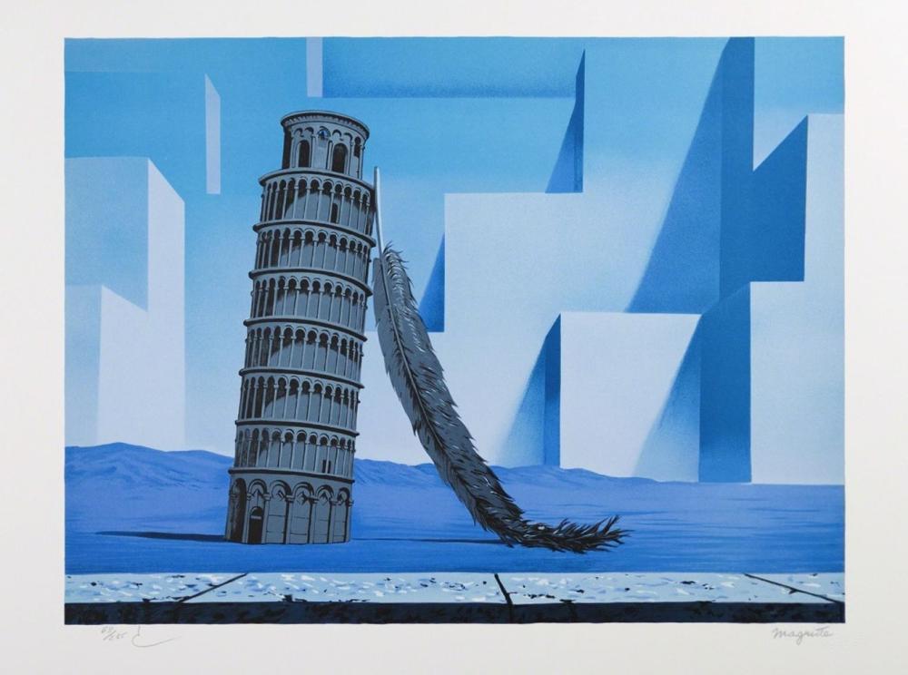 René Magritte - La Nuit de Pise MM (Night in Pisa)