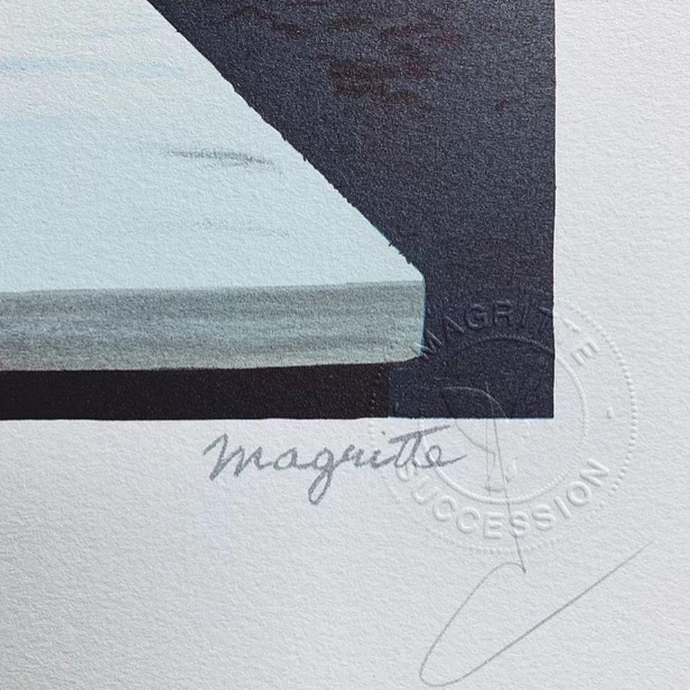 René Magritte - Un peu de l'âme des bandits MM (A little of the outlaws' souls)