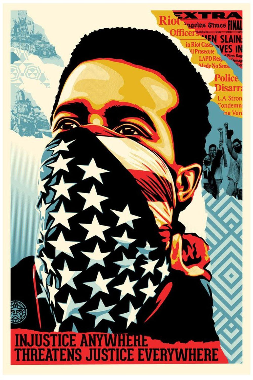 Shepard Fairey (OBEY) - American Rage