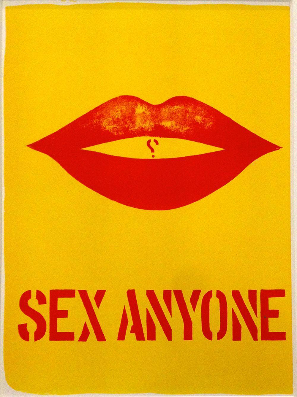 Robert Indiana - Sex Anyone, 1964