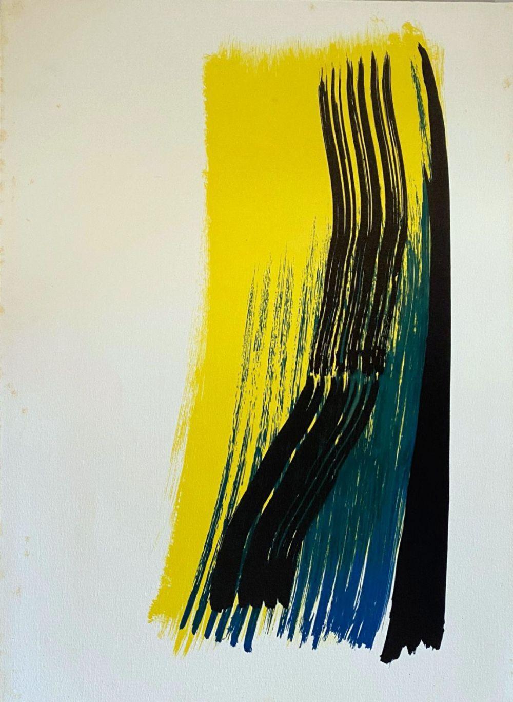 Hans Hartung - Farandole, 1971