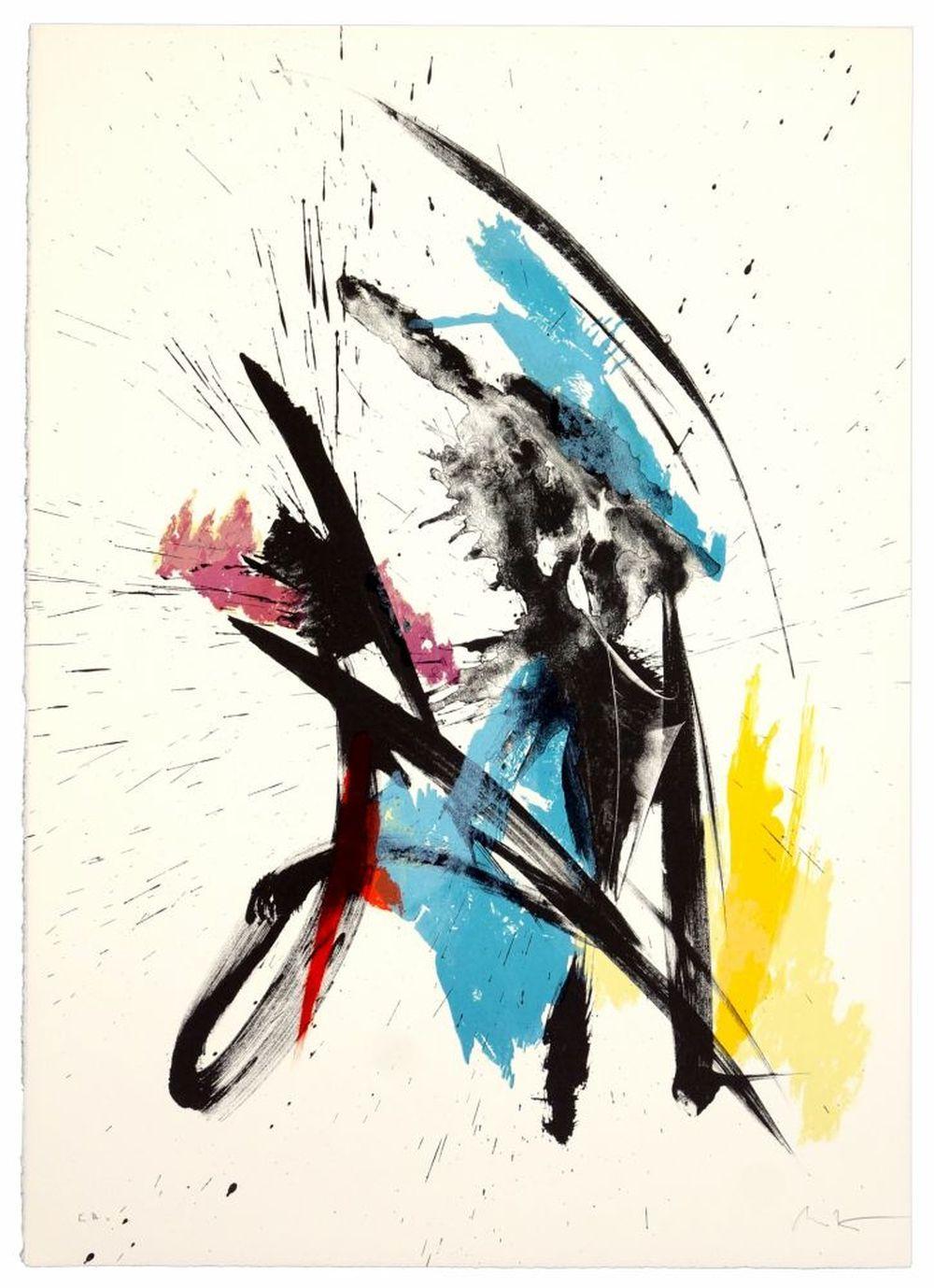 Jean Miotte - Composition I, 1990