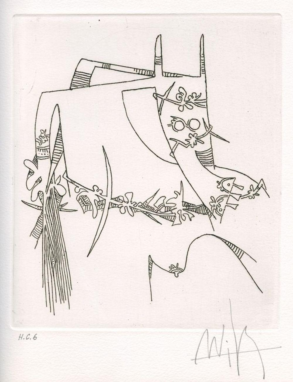 Wifredo Lam - Figure, 1974