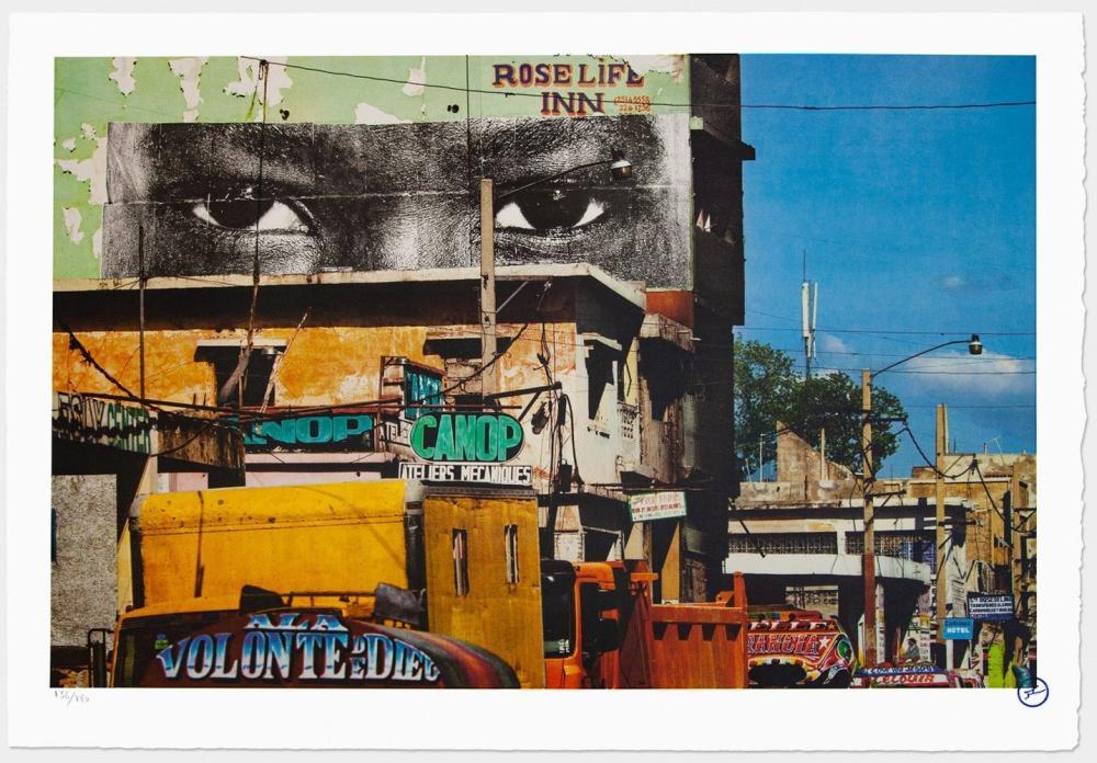 JR - Inside Out, Haiti, 2012