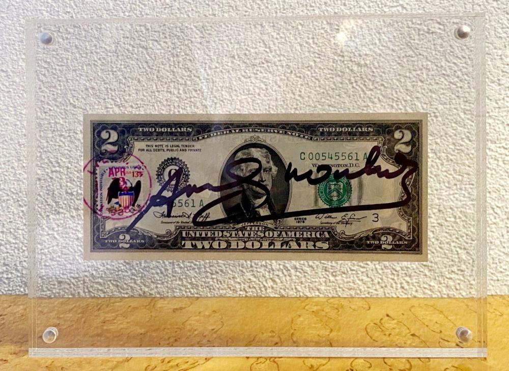 Andy Warhol - Two Dollar Bill, 1976