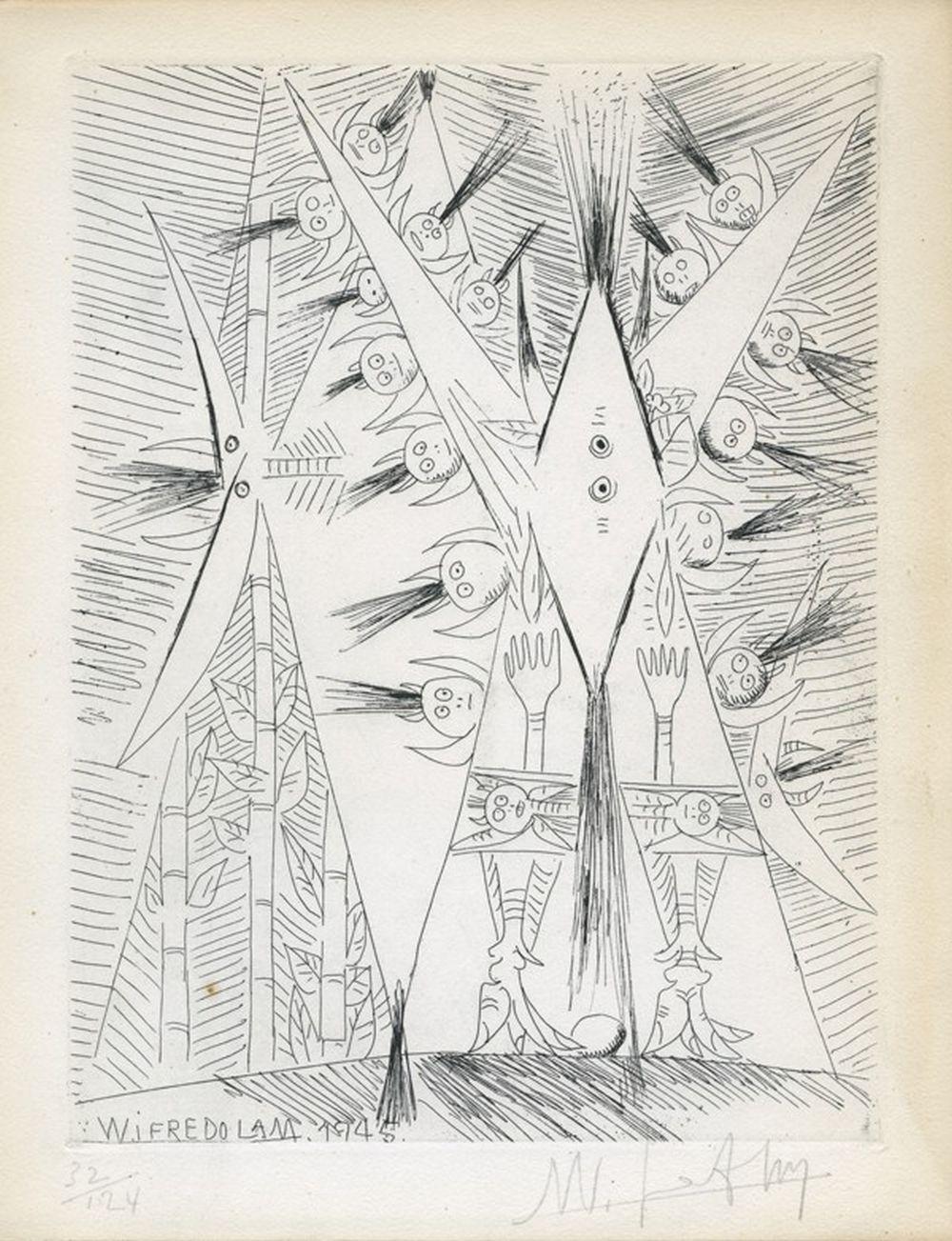 Wifredo Lam - Voyages à travers la peinture, 1946