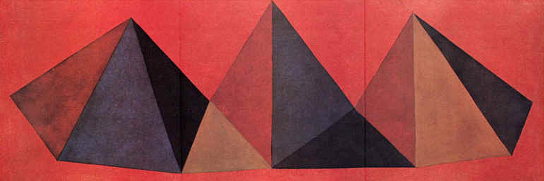 Sol Lewitt - Piramidi IV