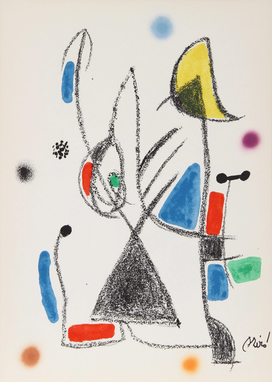 Joan Miro - Maravillas con Variaciones Acrósticas XVI, 1975
