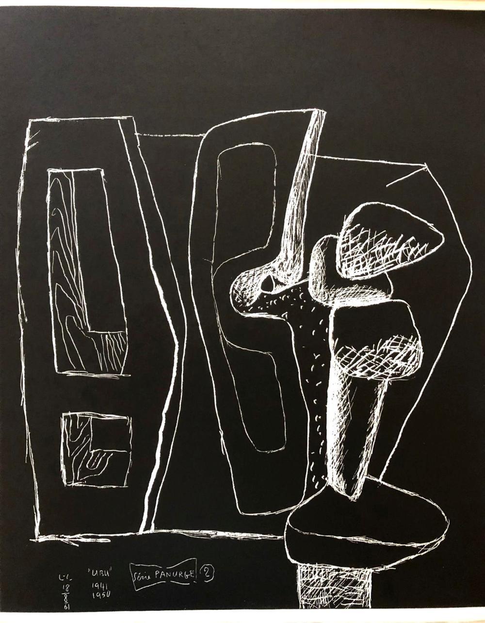 Le Corbusier - Ubu le Panurge, 1962