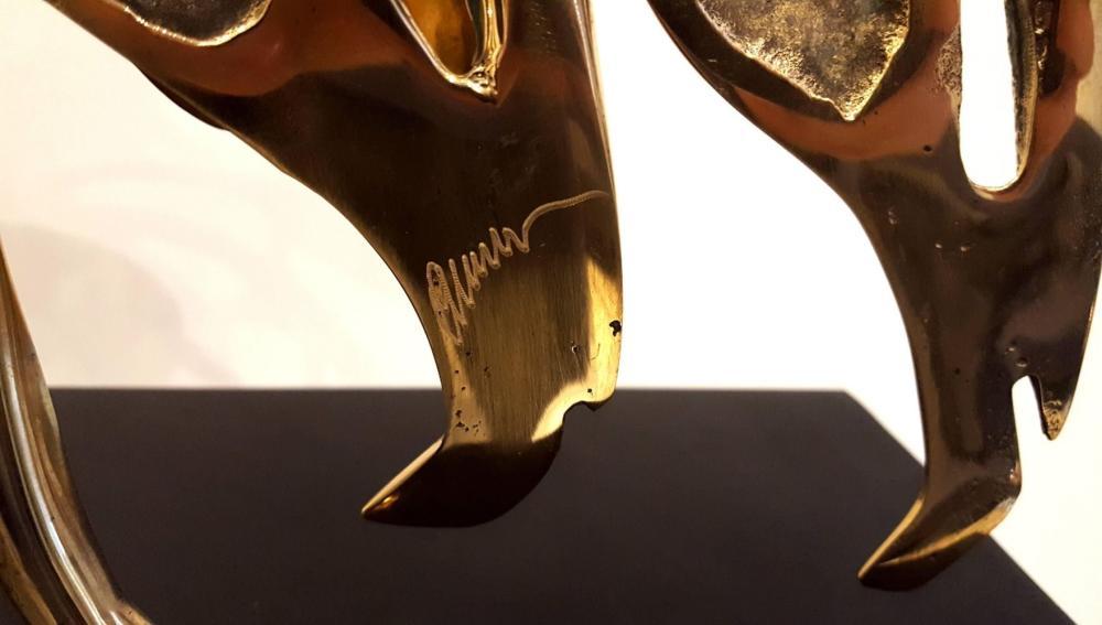 Arman - Panthère, Sculpture
