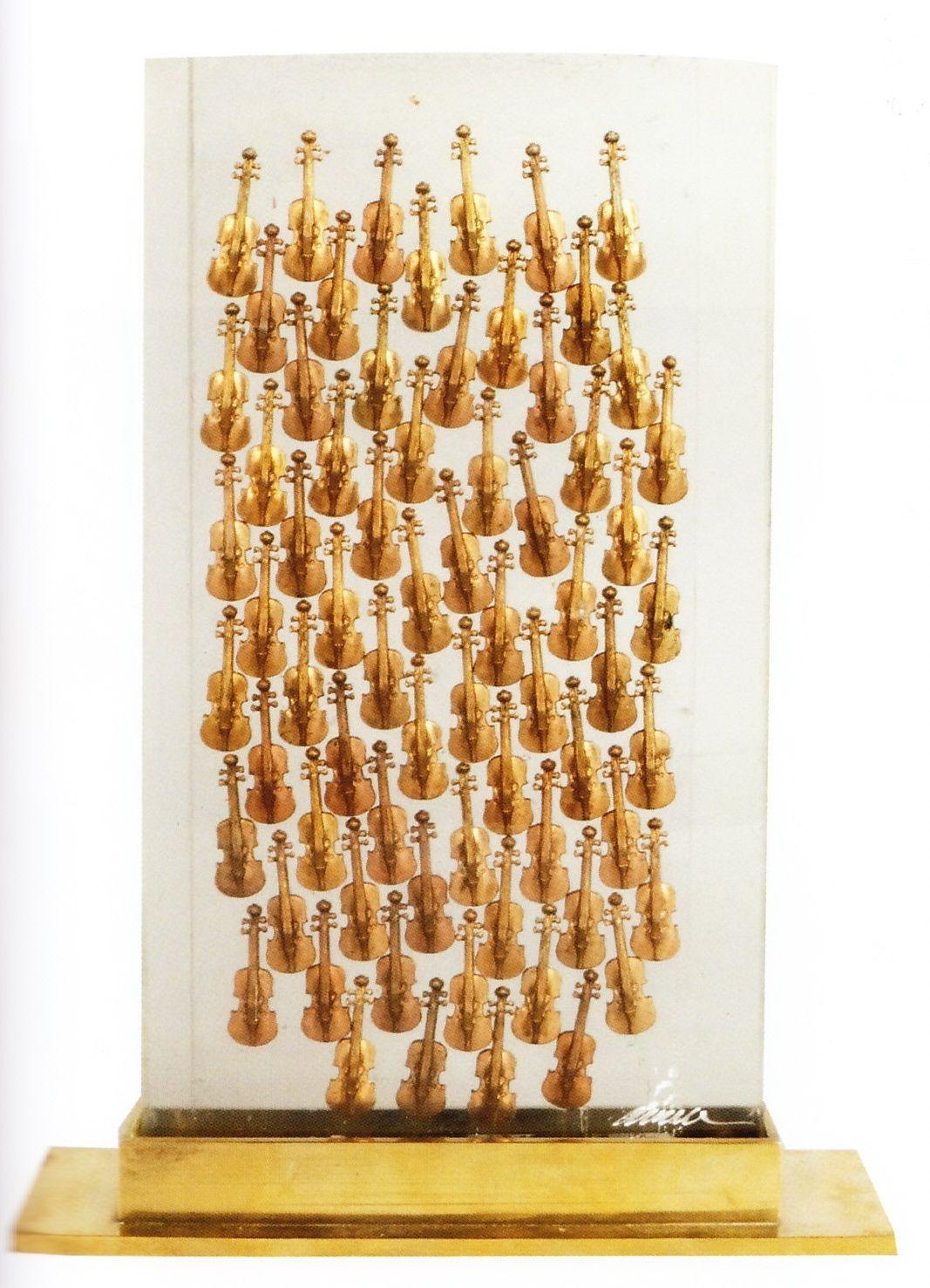 Arman - 100 Violons, Sculpture