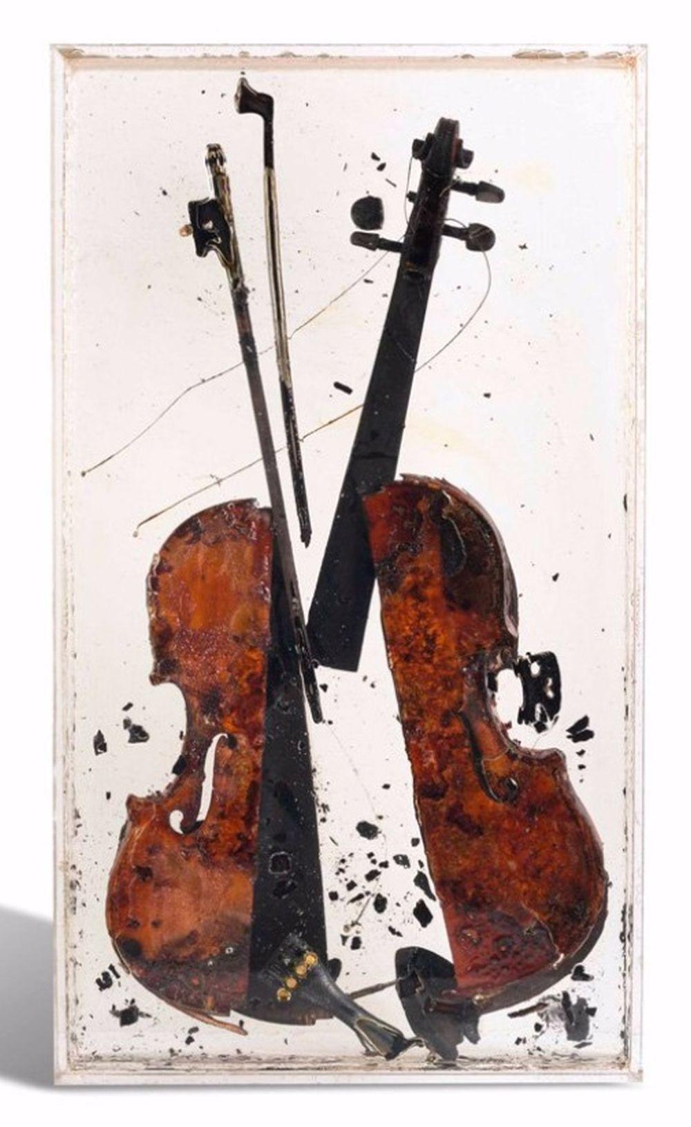Arman - Colère de Paganini, 2004