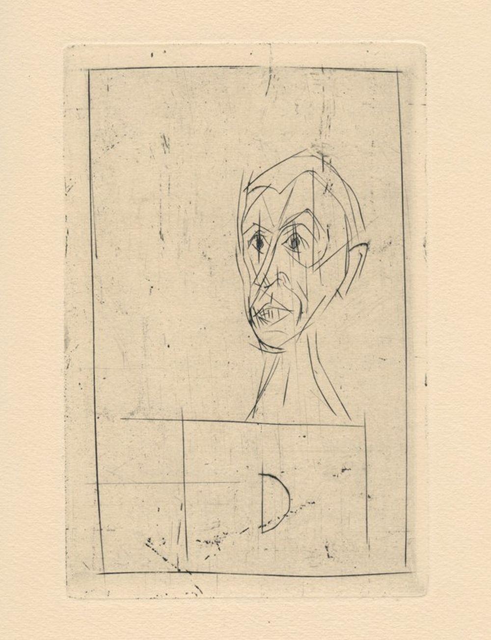 Alberto Giacometti - Histoire de rats I